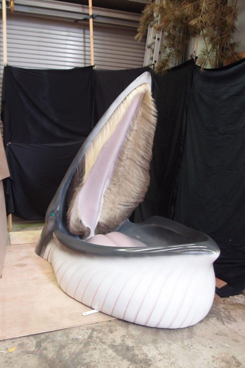 クロミンククジラ頭部模型